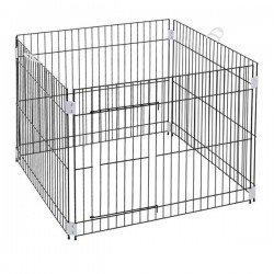 Ferplast Köpek Eğitim Kafesi 80x80x62