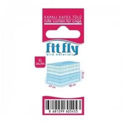 Fit Fly Lüx Kapalı Kafes Tülü XL Salma