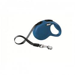Flexi New Classic 3M Şerit Tipi Tasma XSmall Mavi