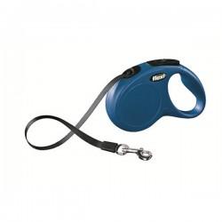 Flexi New Classic 5M Şerit Tipi Tasma Small Mavi