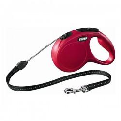Flexi New Classic 8M Small İp Tipi Kırmızı