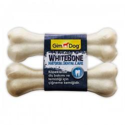 Gimdog Mordimi Press Kemik 14 cm 2li Beyaz