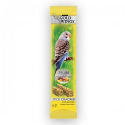 Gold Wings Classic Meyveli Muhabbet Kuş Krakeri 2li