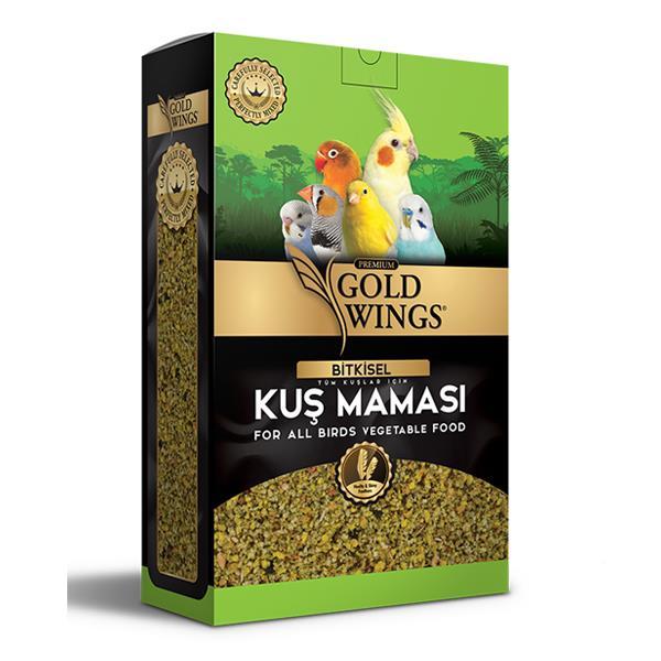 Gold Wings Premium Bitkisel Kuş Maması 1 Kg