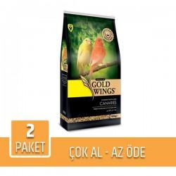 Gold Wings Premium Kanarya Yemi 1Kg x 2 Paket