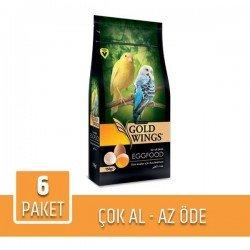 Gold Wings Premium Kuş Maması 150gr x 6 Paket
