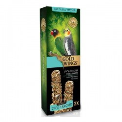 Gold Wings Premium Meyveli Paraket Krakeri 2li