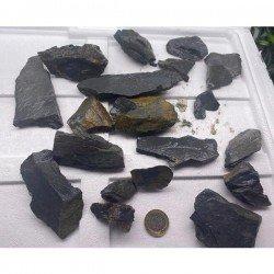 Grey Akvaryum Dekor Kayası 10 - 15 Cm 1 Adet
