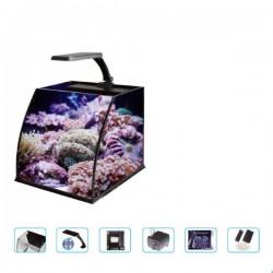 Haqos Belly Box 25 Ledli Sumplu Nano Akvaryum 26x26x24cm