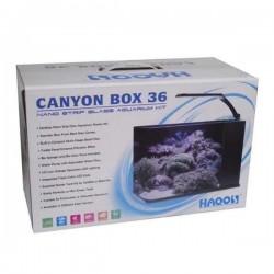 Haqos Canyon Box 36 Nano Akvaryum Kit 14 Lt Siyah