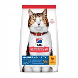 Hills Mature Adult Tavuklu Yaşlı Kedi Maması 3Kg
