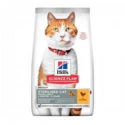 Hills Sterilised Tavuklu Kısırlaştırılmış Kedi Maması 10Kg