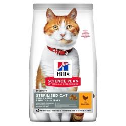 Hills Sterilised Tavuklu Kısırlaştırılmış Kedi Maması 3Kg