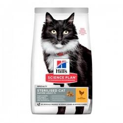 Hills Sterilised Tavuklu Kısırlaştırılmış Yaşlı Kedi Maması 1,5Kg