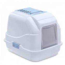 Imac Easy Cat Kapalı Kedi Tuvaleti Mavi 50x40x40Cm