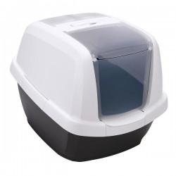 Imac Maddy Kapalı Kedi Tuvaleti Antrasit 62x49x47Cm