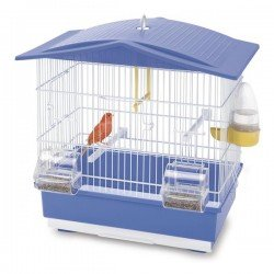 Imac Tiffany Muhabbet Kuş Kafesi Mavi