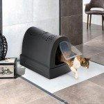 Imac Zuma Çekmeceli Kapalı Kedi Tuvaleti Antrasit