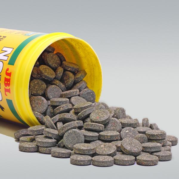 JBL Novo Fect Bitkisel Tablet Yem Kovadan Bölme 250 Adet Balık