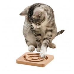 Karlie Ahşap Kedi Zeka Oyuncağı 19x19x2Cm
