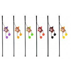 Karlie Kedi Oltası Sesli Kirpi 50Cm Karışık Renkli