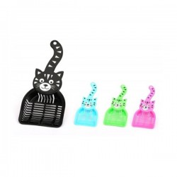 Kedi Şekilli Kedi Kumu Küreği