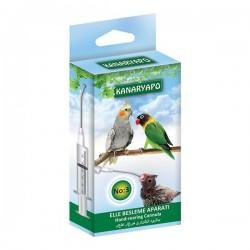 Kuşlar İçin Elle Besleme Aparatı Mama Şırıngası No 3