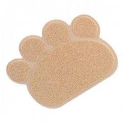 Lion Kedi Paspası Bej 60x45 cm