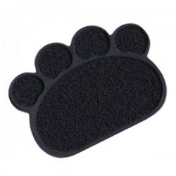 Lion Kedi Paspası Siyah 60x45 cm