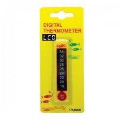 Liya 308B Dijital Akvaryum Derecesi Kendinden Yapışkanlı