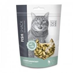 M-Pets Fish Bite With Catnip Balıklı Kedi Ödülü 80gr