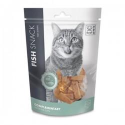 M-Pets Fish Strips Balıklı Kedi Ödülü 80gr
