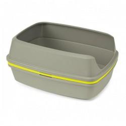 Moderna 4 Katlı Elekli Kedi Tuvaleti Gri-Sarı 38x50x24 Cm