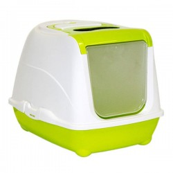 Moderna Flip Kapalı Kedi Tuvaleti 50Cm Yeşil