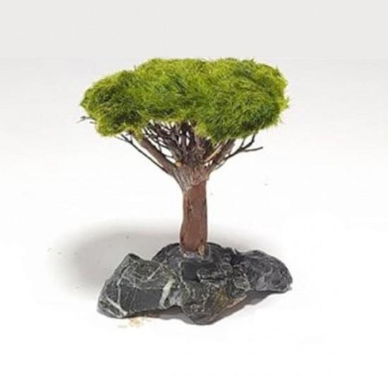 Canlı Moss Sarılı Ağaç Figürü S