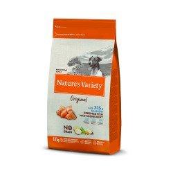 Nature's Variety Dog No Grain Mini Yetişkin Somonlu Köpek Maması 1.5Kg