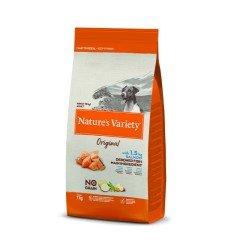 Nature's Variety Dog No Grain Mini Yetişkin Somonlu Köpek Maması 7Kg