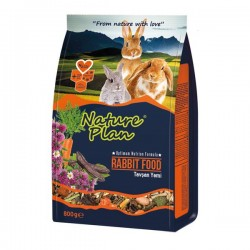 Nature Plan Tavşan Yemi 800gr