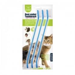 Nunbell Kedi Köpek Diş Fırçası 22cm 3lü