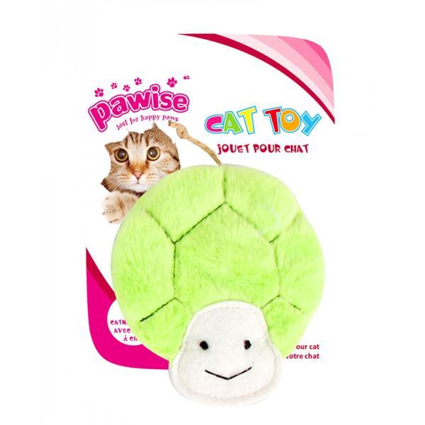 Pawise Peluş Kaplumbağa Kedi Oyuncağı