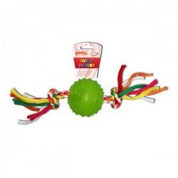 Pawise Renkli İpli Top Oyuncak 6,3 cm