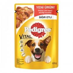 Pedigree Pouch Biftekli Yetişkin Köpek Maması 100 Gr
