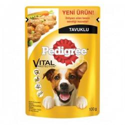 Pedigree Pouch Tavuklu Yetişkin Köpek Maması 100 Gr