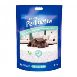 Perlinette Cat Adult Sensitive Silica Kedi Kumu 15 Kg - 37 Lt