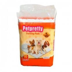 Pet Pretty Natural Köpek Çiş Pedi 60x90cm 10lu Paket