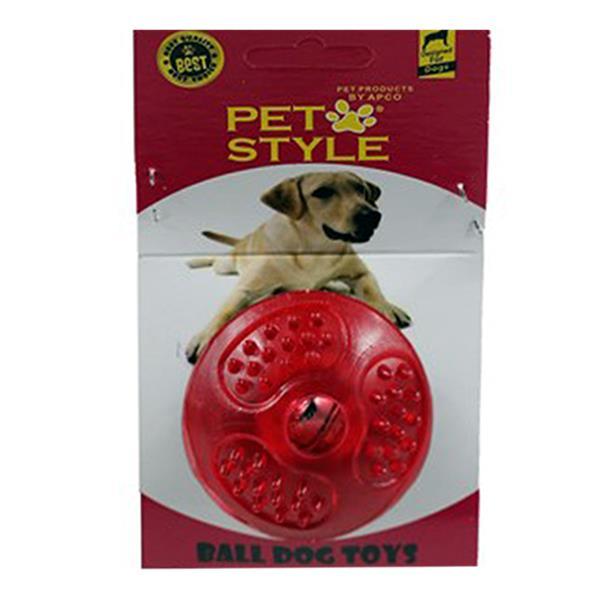 Pet Style Çıngıraklı Sert Top Kırmızı