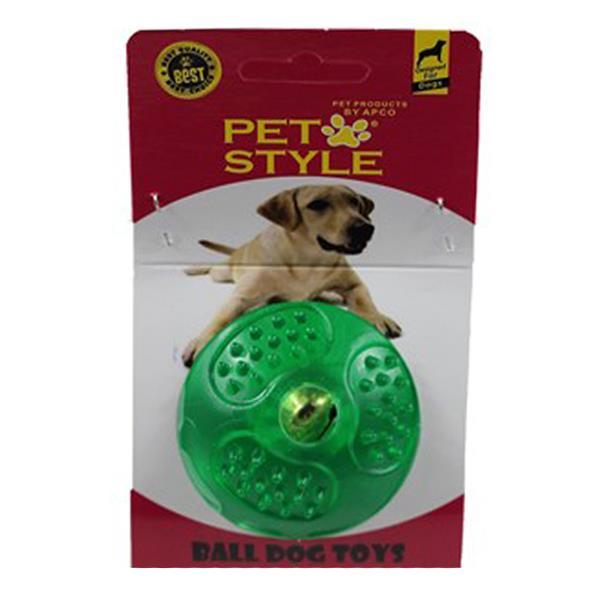 Pet Style Çıngıraklı Sert Top Şeffaf Yeşil
