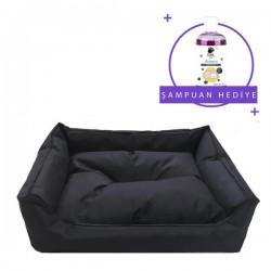 Pet Style Dış Mekan Kedi Köpek Yatağı Siyah No:1 (Küçük Irk)