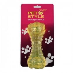 Pet Style Dolgulu Kemik Şeffaf Sarı
