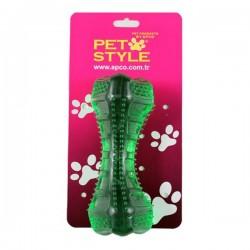 Pet Style Dolgulu Kemik Yeşil